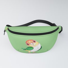 White bellied caique Fanny Pack