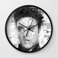 elvis Wall Clocks featuring Elvis by Artstiles