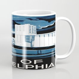 Vintage poster - Port of Philadelphia Coffee Mug