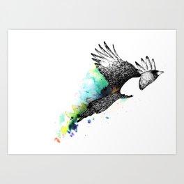 Flight of freedom Art Print