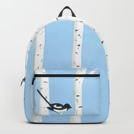 Magpies Among the Aspens Backpack