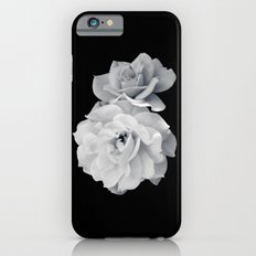 Black and White Roses iPhone 6s Slim Case