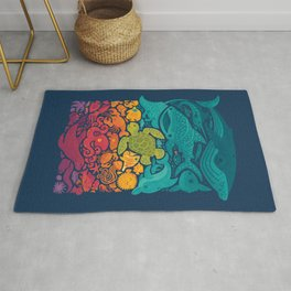 Aquatic Spectrum Rug