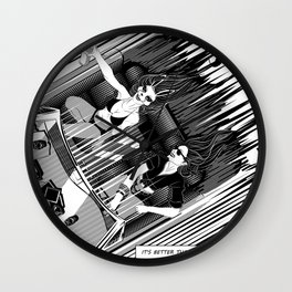 It's better than safe. It's death proof Wall Clock