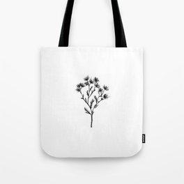Wild Carrot Wildflower Tote Bag