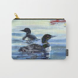 loons Carry-All Pouch
