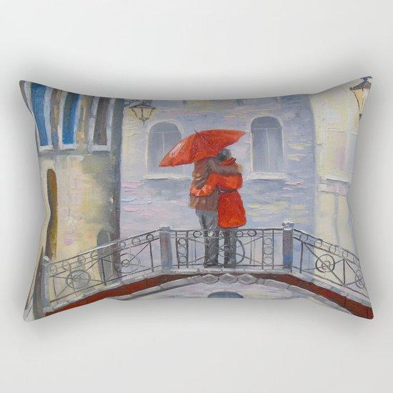 On a date Rectangular Pillow