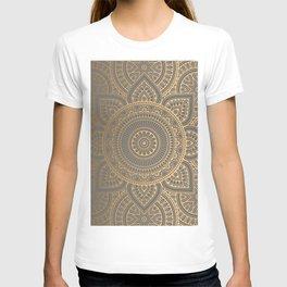 Gold Mandala 4 T-shirt