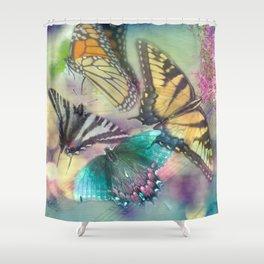 Butterfly Dance Shower Curtain