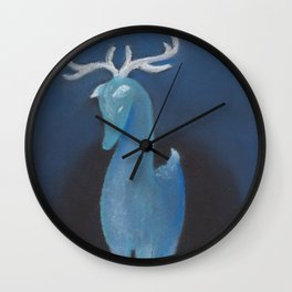 Winter Spirit Wall Clock