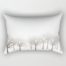 Winter Forest by Friztin Rectangular Pillow