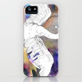 Virgo Swan iPhone Case