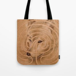 labyrinth's Wolf Tote Bag