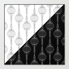 Art Deco 51 . Christmas decorations . Canvas Print