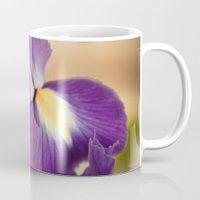 iris Mugs featuring Iris by Light Wanderer
