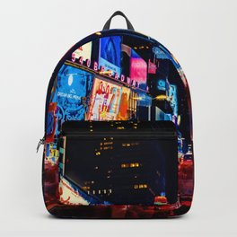 The light of night's streets_10 Backpack