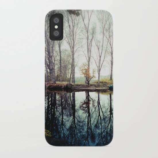 A bend in the river iPhone Case