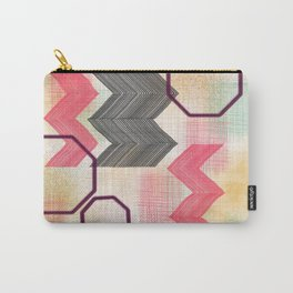 Cheery Chevron Carry-All Pouch