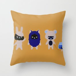 MAD MINIS  Throw Pillow