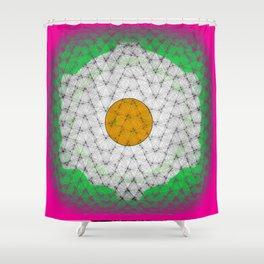 Huevo Frito Shower Curtain