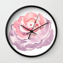 Flower Series - Rose Wall Clock