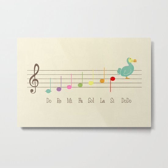 Music Lesson Metal Print