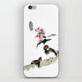 Learning the ways of the world iPhone Skin
