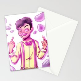Wilford Warfstache buBBLES! Stationery Cards