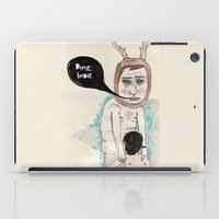 indie iPad Cases featuring Call me indie by Édgar MT