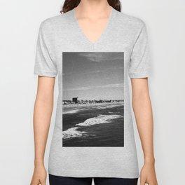 Pacific beach Unisex V-Neck
