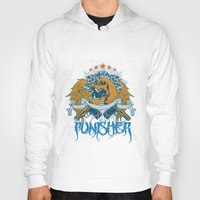 punisher Hoodies featuring Punisher by Tshirt-Factory