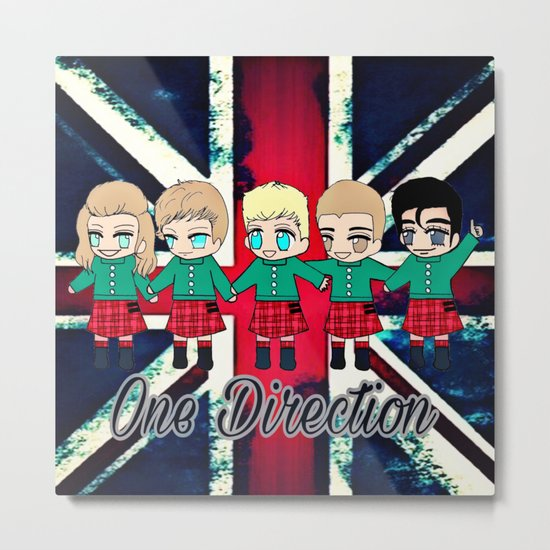 One Direction-7 Metal Print