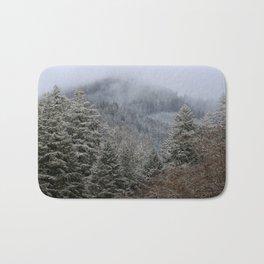 Mt Hagen in the Mist Bath Mat