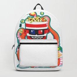 Hurricane Popcorn Kaiju Food Monster Backpack