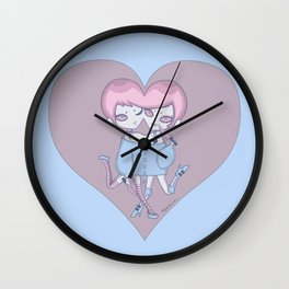 Twinheart Wall Clock
