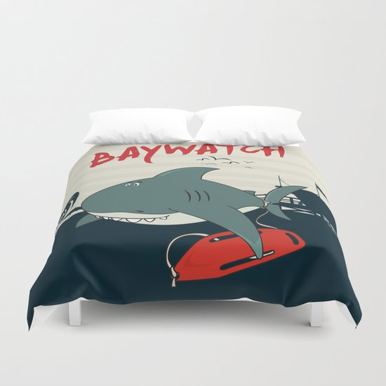 Baywatch  Duvet Cover