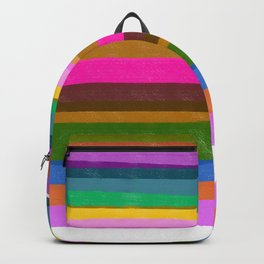 Wild lines pink Backpack
