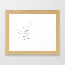 3D Frame Framed Art Print