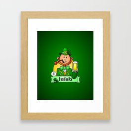 St. Patrick's Day Framed Art Print