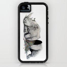 Rhino Slumber iPhone Case