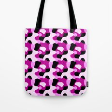 Pink Camo Pattern Tote Bag