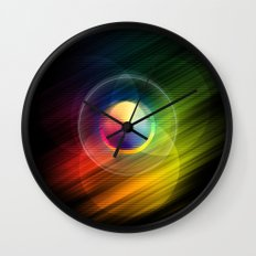Dreams + Starlight Wall Clock