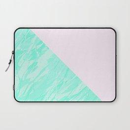 Green Marble Geometric Laptop Sleeve