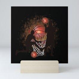 Basketball Sport Play Mini Art Print