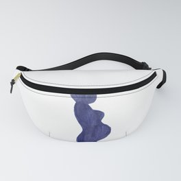 Purple Mama Ink Painting 3 Fanny Pack
