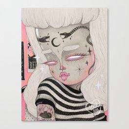 Teenage Ghoul Canvas Print