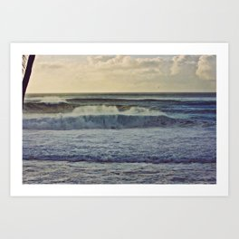 Let it flow on the islands of Hawaii Art Print
