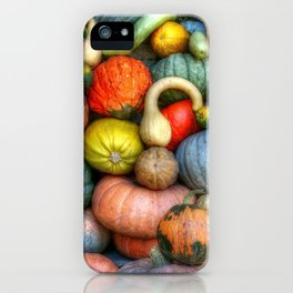 Fall crop iPhone Case