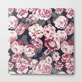 Vintage flowers Metal Print