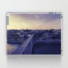 Porto across the bridge. Laptop & iPad Skin